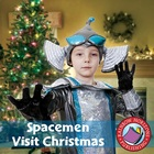 Spacemen Visit Christmas