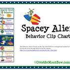Spacey Alien Behavior Clip Chart