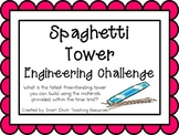 Spaghetti Tower: Engineering Challenge Project ~ Great STE