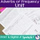 Spanish Adverbs of Frequency Mini-Unit