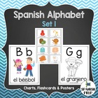 Spanish Alphabet Flashcards & Wall Chart (Bulletin Board S