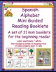 Spanish Alphabet Mini Guided Reading Books