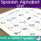Spanish Alphabet Mini-Unit Plan