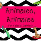 Spanish Animal Bundle Unit/Unidad de los animales