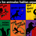 Spanish Animals Poster (los animales hablan)