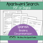 Spanish Apartment Search- Reading Comprehension & Writing!