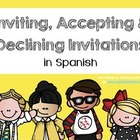 Spanish Bookmarks for accepting &amp; declining an invitation