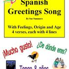 Spanish Buenos Dias Greetings Song With Feelings, Origin and Age