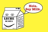 Spanish Chiste Soy Milk Poscard Set of 50