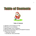 Spanish Christmas Activities for Young Children