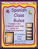 Spanish Class Rules