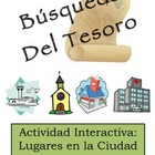 Spanish Classroom Scavenger Hunt Activity: City Location V