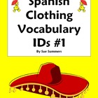 Spanish Clothing Vocabulary IDs Worksheet - La Ropa