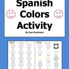 Spanish Colors Assignment / Homework - Tarea de Los Colores