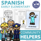 Spanish Community Helpers Pack - los Ayudantes de la Comunidad