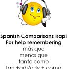 Spanish Comparisons Song / Chant / Rap / Saying