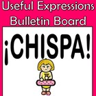 Spanish Cool & Useful Conversation Expressions Bulletin Board