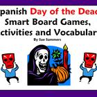 Spanish Day of the Dead / Dia de los Muertos Games & Vocabulary