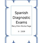 Spanish Diagnostic Exams