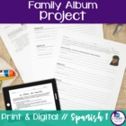 Spanish Family Album Project