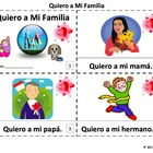 Spanish Family Quiero a Mi Familia Booklets