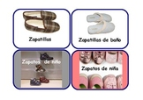 Spanish Flashcards clothes and accessories  ,also  for role -play