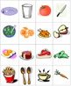 Spanish Food Vocab Bingo