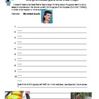 Spanish Future Tense Practice Sheet/ Worksheet/ Homework Funny