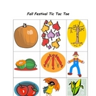 Spanish Games: Fall Festival Tic Tac Toe & More
