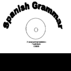Spanish Grammar 21 ppt &amp; 7 worksheets CD