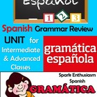 Spanish Grammar Review Packet for Intermediate and Advance