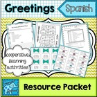 Spanish Greetings, Farewells and Basic Introductions Packet