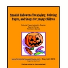 Spanish Halloween Activities for Young Children