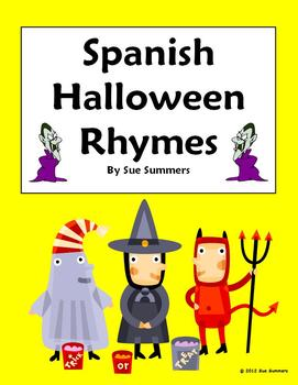 Spanish Halloween Rhymes