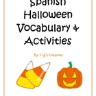 Spanish Halloween Vocabulary and Activities!