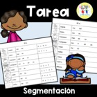 Spanish Homework: 006: TAREA Segmentacin por slabas y sonidos