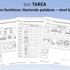 Spanish Homework: 013: TAREA Centro fonticos: Haciendo p