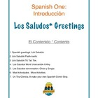 Spanish I Greetings