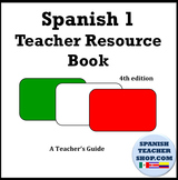 Spanish I Resource Book of Worksheets