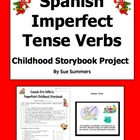 Spanish Imperfect Childhood Storybook PowerPoint Project &