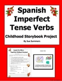 Spanish Imperfect Childhood Storybook PowerPoint Project a