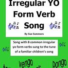 Spanish Irregular Yo Form Verb Song