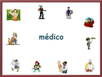 Spanish Jobs and Professions Powerpoint -abridged version