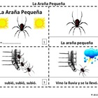 Spanish La Arana Pequena Booklets - Itsy Bitsy Spider Booklets