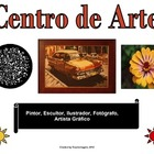 Spanish Language Literacy Sign: Centro de Arte