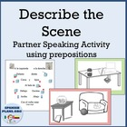 Spanish Location words: Prepositions, preposiciones Intera