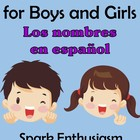Spanish Names for Boys and Girls (Los nombres en espanol)