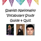 Spanish Nationality Study Guide and Quiz (Prueba de Nacion