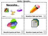 Spanish Necesito...Class Objects Booklet & Presentation