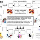 Spanish New Year Theme Numbers and Math Listening Activity